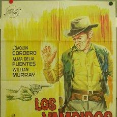 Cine: FE24 LOS VAMPIROS DEL OESTE JOAQUIN CORDERO POSTER ORIGINAL 70X100 ESTRENO. Lote 9984382