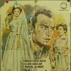 Cine: FE27 MI NOCHE DE BODAS TONY LEBLANC CONCHA VELASCO POSTER ORIGINAL 70X100 ESTRENO. Lote 9984485