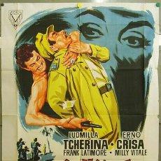 Cine: FF15 LA HIJA DE MATA HARI LUDMILLA TCHERINA POSTER ORIGINAL 89X115 ESTRENO LITOGRAFIA. Lote 11758891