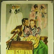 Cine: E156D THE HARVEY GIRLS JUDY GARLAND BRINI POSTER ORIGINAL ITALIANO 140X200 ENTELADO. Lote 20641128