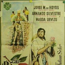 Cine: FF80 LAS ROSAS DEL MILAGRO ARMANDO SILVESTRE POSTER ORIGINAL ESTRENO 70X100. Lote 10030564