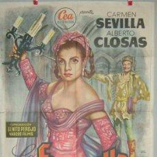 Cine: LA FIERECILLA DOMADA CARMEN SEVILLA CLOSAS. Lote 27235186