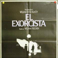 Cine: FH68 EL EXORCISTA LINDA BLAIR WILLIAM FRIEDKIN POSTER ORIGINAL 70X100 ESTRENO. Lote 10049887