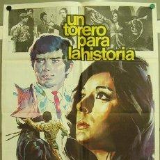 Cine: FI70 UN TORERO PARA LA HISTORIA JOSE LUIS GALLOSO DOLORES VARGAS TOROS POSTER ORIG 70X100 ESTRENO. Lote 10058939