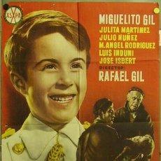 Cine: FJ92 UN TRAJE BLANCO MIGUEL GIL JOSE ISBERT RAFAEL GIL POSTER ORIGINAL 70X100 ESTRENO. Lote 12270062