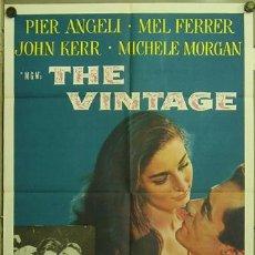 Cine: FK34 THE VINTAGE PIER ANGELI MEL FERRER POSTER ORIGINAL AMERICANO 70X105. Lote 10122152