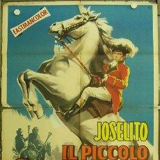 Cine: FL59 EL PEQUEÑO CORONEL JOSELITO POSTER ORIGINAL ITALIANO 100X140. Lote 15282234