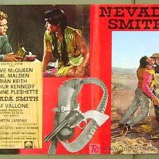 Cine: XB72D NEVADA SMITH STEVE MCQUEEN POSTER ORIGINAL ITALIANO 47X68. Lote 10145027