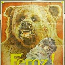 Cine: FO52 FEROZ MANUEL GUTIERREZ ARAGON FERNANDO FERNAN GOMEZ POSTER ORIGINAL ESTRENO 70X100. Lote 10211141