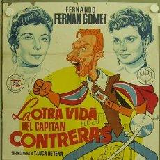 Cine: RU59D LA OTRA VIDA DEL CAPITAN CONTRERAS FERNAN GOMEZ VESPA POSTER ORIGIN 70X100 ESTRENO LITOGRAFIA. Lote 11619767