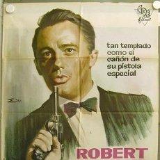 Cine: FP04 MR SOLO ROBERT VAUGHN AGENTE DE CIPOL RARO POSTER ORIGINAL 70X100 ESTRENO. Lote 16839573