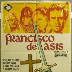 Cine: FQ82 FRANCISCO DE ASIS BRADFORD DILLMAN SOLIGO POSTER ORIGINAL 70X100 ESTRENO LITOGRAFIA. Lote 10298740