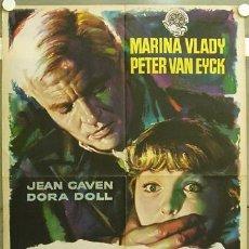 Cine: XE28D SOFIA Y EL CRIMEN MARINA VLADY PETER VAN EYCK MAC POSTER ORIGINAL 70X100 ESTRENO. Lote 10437012