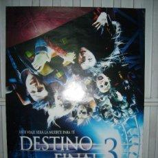 Cine: DESTINO FINAL 3 POSTER ORIGINAL 70X100. Lote 10367029