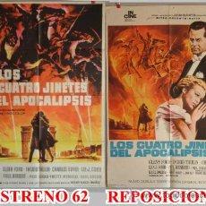 Cine: LOS CUATRO JINETES DEL APOCALIPSIS ESTRENO Y REPOSICION MINNELLI. Lote 16446151