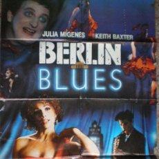 Cine: BERLIN BLUES. RICARDO FRANCO, JAVIER GURRUCHAGA Y JOSE CORONADO. Lote 13011181