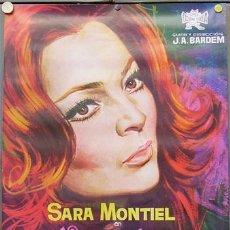 Cinema: FY54 VARIETES SARA MONTIEL BARDEM POSTER ORIGINAL 70X100 ESTRENO . Lote 10611407
