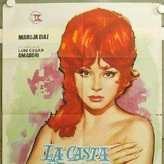 Cine: FY72 LA CASTA SUSANA MARUJITA DIAZ SEXY JANO POSTER ORIGINAL ESTRENO 70X100. Lote 10614388
