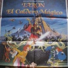 Cine: TARON Y EL CALDERO MAGICO. WALT DISNEY PICTURES. Lote 17460389