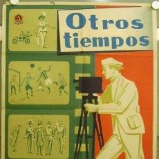 Cine: FZ88 OTROS TIEMPOS FUTBOL TOROS FERNANDEZ CUENCA POSTER ORIGINAL ESTRENO 70X100. Lote 20345006