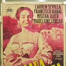Cine: FZ86 LA PICARA MOLINERA CARMEN SEVILLA CIFESA POSTER ORIGINAL ESTRENO 70X100 LITOGRAFIA. Lote 10666865