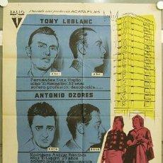 Cine: FZ84 LOS TRAMPOSOS TONY LEBLANC CONCHA VELASCO PEDRO LAZAGA POSTER ORIGINAL 70X100 ESTRENO. Lote 16592894