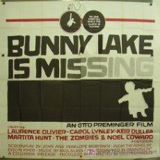 Cine: GA88D EL RAPTO DE BUNNY LAKE OTTO PREMINGER SAUL BASS POSTER ORIGINAL 6 HOJAS AMERICANO 210X210. Lote 18900976
