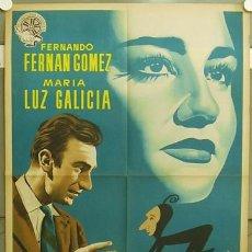 Cine: GB36 EL MALVADO CARABEL FERNANDO FERNAN GOMEZ MARIA LUZ GALICIA POSTER ORG ESTRENO 70X100 LITOGRAFIA. Lote 10722944