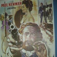 Cine: CARTEL DE CINE DE 1000X700 TITULO EL JUEZ DE LA HORCA PAUL NEWMAN AVA GADNER. Lote 10896361