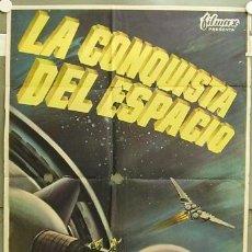 Cine: XD68D LA CONQUISTA DEL ESPACIO BYRON HASKIN GEORGE PAL POSTER ORIGINAL 70X100 ESTRENO. Lote 12045491