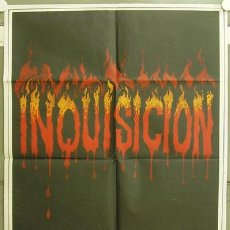 Cine: GE15 INQUISICION PAUL NASCHY DANIELA GIORDANO POSTER ORIGINAL 70X100 ESTRENO. Lote 253701365