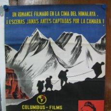 Cine: TORMENTA SOBRE EL TIBET - REX REASON, DIANA DOUGLAS . LITOGRAFIA. . Lote 27228146