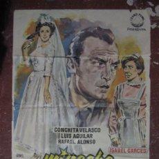 Cine: MI NOCHE DE BODAS - CONCHITA VELASCO, TONY LEBLANC, GRACITA MORALES, LUIS AGUILAR - 100X70CM - 1961. Lote 11184318