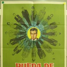 Cine: GG42 RUEDA DE SOSPECHOSOS JOSE SUAREZ SUSANA CAMPOS POSTER ORIGINAL 70X100 ESTRENO. Lote 11198757