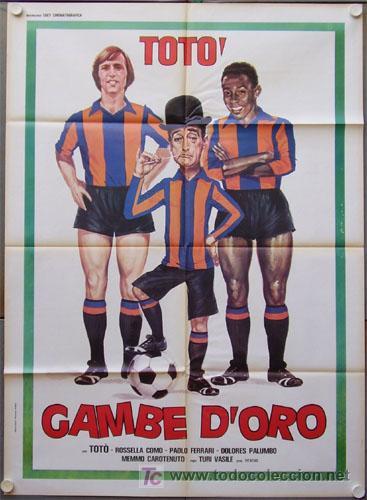 GG86 COLECCION FUTBOL 20 POSTERS ORIGINALES ITALIANOS 100X140 (Cine - Posters y Carteles - Deportes)