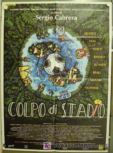 Cine: GG86 COLECCION FUTBOL 20 POSTERS ORIGINALES ITALIANOS 100X140 - Foto 10 - 20414007