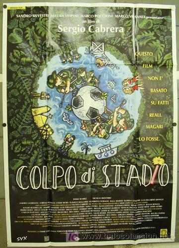 Cine: GG89 COLECCION FUTBOL 10 POSTERS ORIGINALES ITALIANOS 140X200 - Foto 3 - 20414006