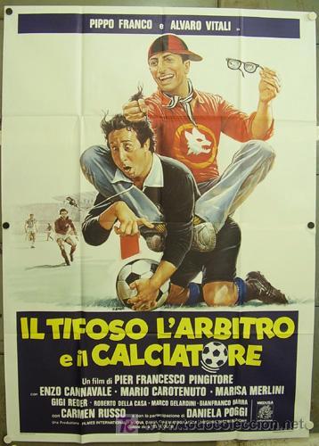Cine: GG89 COLECCION FUTBOL 10 POSTERS ORIGINALES ITALIANOS 140X200 - Foto 2 - 20414006