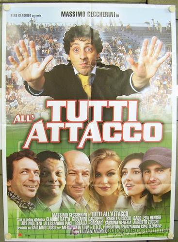 Cine: GG86 COLECCION FUTBOL 20 POSTERS ORIGINALES ITALIANOS 100X140 - Foto 8 - 20414007