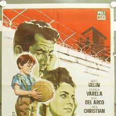 Cine: GI86 EL NIÑO Y EL MURO INMA DE SANTIS FUTBOL POSTER ORIGINAL 70X100 ESTRENO. Lote 11277647