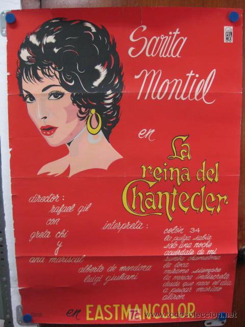 LA REINA DEL CHANTEDER. SARA MONTIEL. MEXICANO (Cine - Posters y Carteles - Clasico Español)