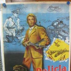 Cine: POLICIA FEDERAL - JORGE RIVIERE - DIANA MAGGI .- LITOGRAFIA. Lote 27454546