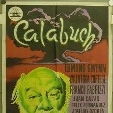 Cine: GN27 CALABUCH BERLANGA POSTER ORIGINAL CIFESA ESTRENO 70X100 LITOGRAFIA. Lote 17654772