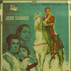 Cine: GN43 DIEGO CORRIENTES ISASI JOSE SUAREZ SOLIGO POSTER ORIGINAL ESTRENO 70X100 LITOGRAFIA. Lote 11715136