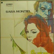Cine: GN76 LA MUJER PERDIDA SARA MONTIEL INMA DE SANTIS POSTER ORIGINAL FRANCES 120X160 LITOGRAFIA. Lote 11717724