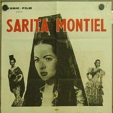 Cine: GN81 EL ULTIMO CUPLE SARA MONTIEL POSTER ORIGINAL FRANCES 60X80. Lote 19208986