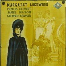 Cine: WQ83D PERFIDIA MARGARET LOCKWOOD JAMES MASON POSTER ORIGINAL 70X100 ESTRENO LITOGRAFIA. Lote 16163541