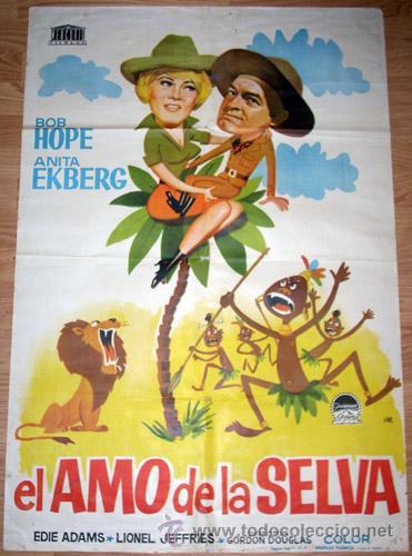 EL AMO DE LA SELVA (Cine - Posters y Carteles - Comedia)