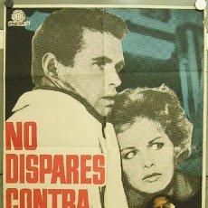 Cinema: GP64 NO DISPARES CONTRA MI ANGEL ARANDA JULIAN MATEOS JOSE MARIA NUNES POSTER ORIG ESTRENO 70X100. Lote 11854538