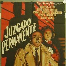 Cine: GP97 JUZGADO PERMANENTE JOSE MARIA RODERO POSTER ORIGINAL ESTRENO 70X100 LITOGRAFIA. Lote 11865472